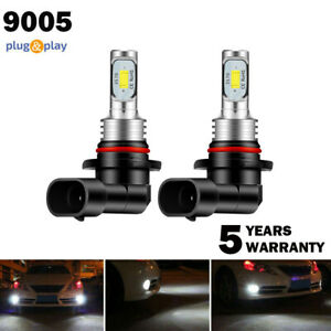 2x Cree 9005 Hb3 Led Headlight Kit 100w 8000lm High Low Beam 6000k White Bulb