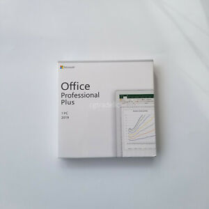 Microsoft Office 2019 Ms Professional Plus Retail Dvd For Windows 10 1pc