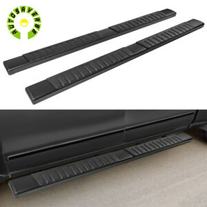 For 2009 2018 Dodge Ram 1500 Crew Cab 6 Running Boards Nerf Bar Side Steps Pair