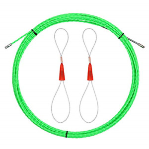 Swanlake 40ft Fish Tape Wire Puller Through Wall Electrical Fish Tape Pull Push