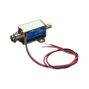 Intermittent Duty Solenoid 12vdc Pull Type 0 217 5 50mm Stroke