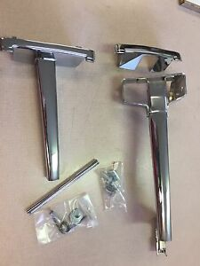 1948 1949 1950 Ford Pickup Hood Handle Complete Kit Fits All F Series Trucks