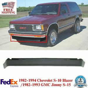 Front Lower Valance Air Deflector Primed For 82 94 S10 S15 Blazer Sonoma Jimmy