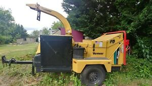 2003 Vermeer Bc 1400 Xl Brush Chipper Always Serviced By Manufacturer New Parts