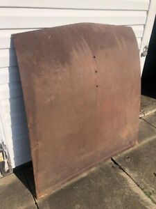 Nos Oem Ford 1957 Fairlane Hood Sheet Metal Sunliner Skyliner Custom