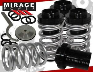 1993 1999 Vw Golf jetta Silver Scaled Adjustable Lower Coil Spring Coilover Kit
