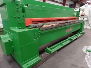 1986 Wysong Mn 1250 Pc 100 Upgrade 20 Hp 220 440 3 60 Mechanical Shear Cast Iron