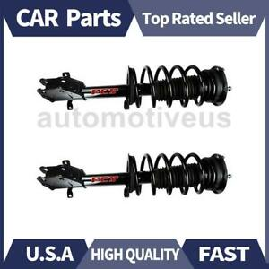 Front Shocks Strut Coil Spring Assembly 2 X Focus Auto Parts For Ford 2007 2008