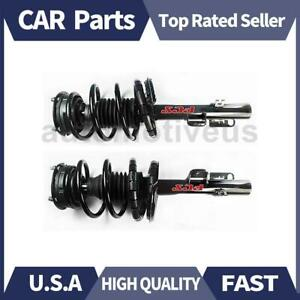 Front Strut Shocks Coil Spring Assembly 2 X Focus Auto Parts For Ford 2005 2007