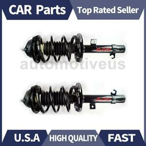 Front Strut Shocks Coil Spring Assembly 2 X Focus Auto Parts For Ford 2006 2007