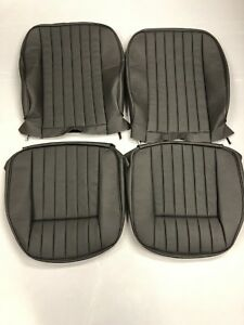 New Jaguar Xke E type Leather Seat Cover Perforation