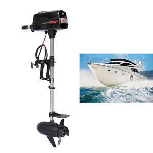 Hangkai 7hp Brushless Electric Boat Outboard Motor Engine Tiller Control 1 8kwus