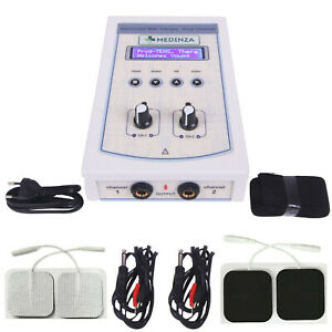 Prof Home Use 2 Channel Electrotherapy Physical Pain Relief Ultrasound Machine