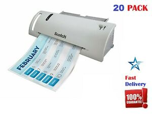 Laminating Pouches Sheets 3 5 Mil 20 Pack