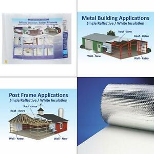 24 In X 100 Ft Single Reflective Insulation Roll