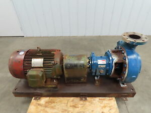 Griswold Pump 6x4x13 Centrifugal Pump 13 Impeller Stainless Housing 30hp