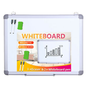 Viz pro Magnetic Dry Erase Board Wall Hanging Whiteboard Student Writing Board