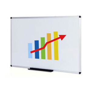 Viz pro Dry Erase Board Whiteboard Non magnetic Wall Mounted Board Large Size