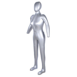 1pc 170cm Inflatable Full Body Female Model Mannequin Show Window Display Useful