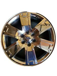 07 11 Expedition Oem Wheel Rim 20x8 5 3659 Chrome Clad Cap Included Used