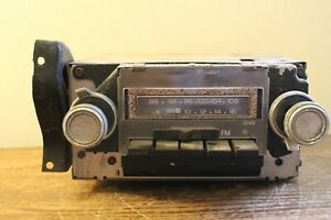 Vintage Delco Am Fm Radio 8 Track Player Number 7939081 2 1977 Chevelle