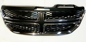 Dodge Journey Grille Assembly Fits 2011 2019 Black And Chrome