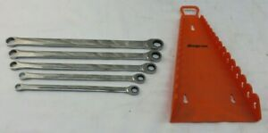 Snap On 12 Pt Metric Hi Performance Ratcheting Box Wrench 5 Pcs Xdlrm705k1