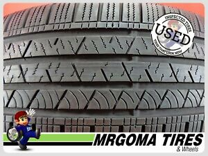 4 Continental Crosscontact Lx Sport 235 55 19 Used Tires 83 Rmng 105h 2355519