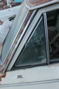 1964 1965 Chevelle Oldsmobile F85 Cutlass Left Tinted Vent Window f