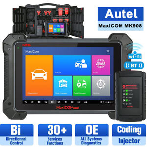 Autel Mk908 Full System Diagnostic Scan Tool Automotive Scanner Ecu Coding Immo