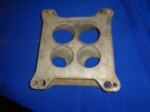 1932 Ford Chevrolet 1955 Gasser Offenhauser Carb Plate Blower High Rise Offy