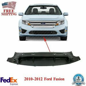 Front Bumper Lower Valance Engine Cover Textured For 2010 2012 Ford Fusion