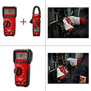 Digital Multimeter With 400 Amp Clamp Meter Value Bundle