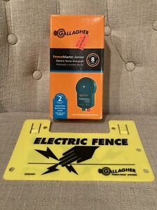 Gallagher Electric Fence Master Junior Up To 8 Acres