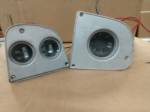 1972 1980 Dodge Truck Lil Red Express Factory Dash Tach Volt And Vacuum Gauges