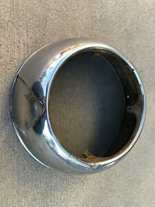 1950 Ford Passenger Center Grille Outer Surround Trim Ring 8a 8217 c 4