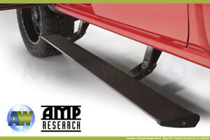 Amp Research Power Steps Running Boards Rails Plug n play For 2019 21 Ranger