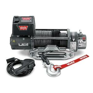 Warn 87800 M8000 S Self Recovery Winch 8000lb W 100ft Rope For Chevy Dodge