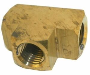 Big A Service Line 3 20140 Brass Pipe Tee Fitting 1 4 X 1 4 X 1 4
