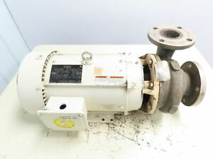 Ampco 3 X 2 1 2 7c2 Stainless Steel Centrifugal Pump 7 5hp 208 230 460v 3ph