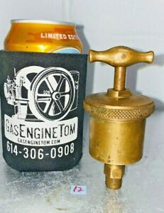 Lunkenheimer Marine 1 T handle Automatic Brass Grease Cup Hit Miss Vintage Old