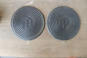 1930 1931 1932 1933 Plymouth New Rumble Seat Pads Pair Of