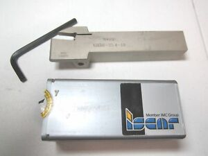 Iscar 02800159 Ghdr 25 4 10 6 Oal External Rh Indexable Grooving Toolholder