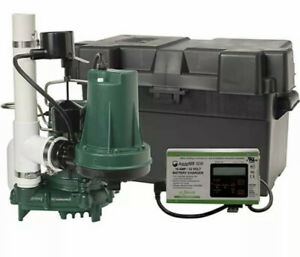 Zoeller 508 0006 Propak53 Preassembled Sump Pump System With Battery Back up