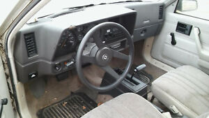Chevrolet Chevy Cavalier Rs Camero Black Steering Wheel W Horn Button 82 94