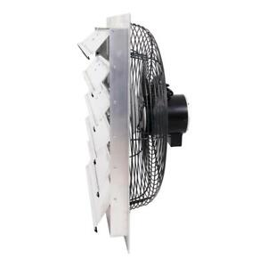 4450 Cfm Shutter Exhaust Fan Wall Mounted