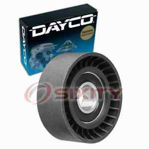 Dayco Supercharger Drive Belt Idler Pulley For 2003 2005 Mercedes benz Sl55 Dn