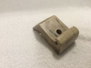 1969 Amc Amx Javelin Interior Rear View Mirror Tan Bracket Cover May Fit Others