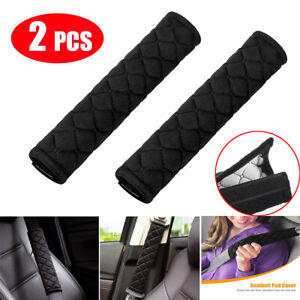2x Car Safety Seat Belt Shoulder Pad Cover Cushion Harness Comfortable Driving