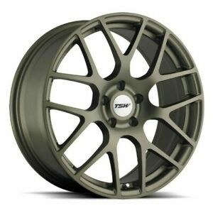 18 Tsw Nurburgring 18x8 Matte Bronze 5x100 Wheel 45mm Rim
